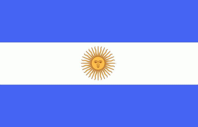 Colores de la Bandera Nacional Argentina azul y blanca Pelemica dia ... 1de4372b31d