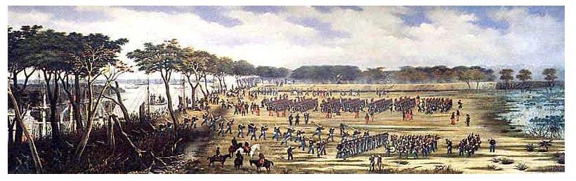Lomas Valentinas, guerra del Paraguay