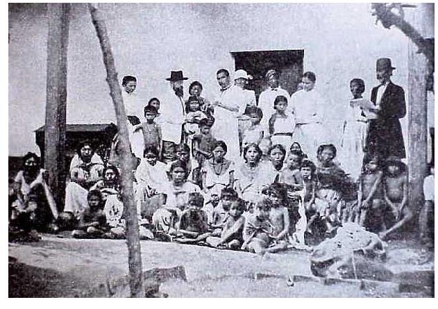 Prisineros de al guerra del Paraguay