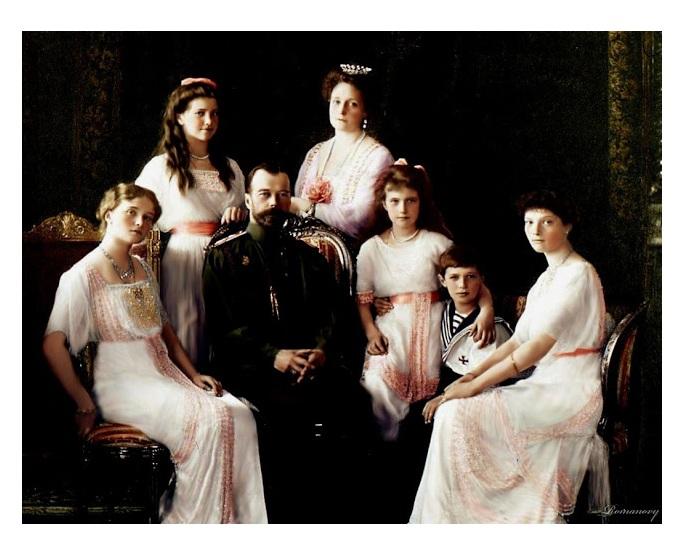 Resultado de imagen para Fotos del zar Nicolás II y su familia